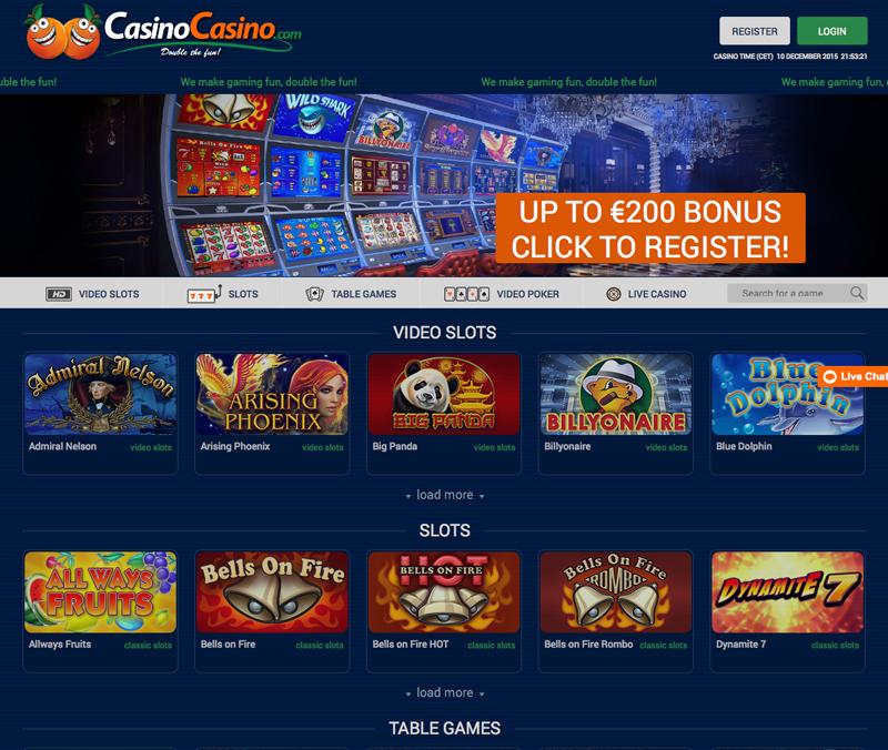 CasinoCasino screenshot